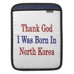 Agradezca a dios que nací en Corea del Norte Mangas De iPad