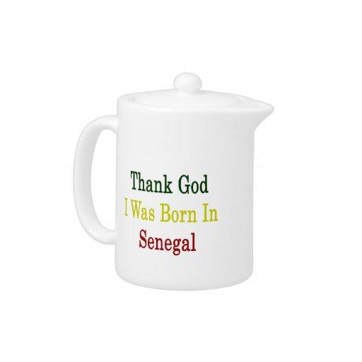 Agradezca a dios que nací en Senegal