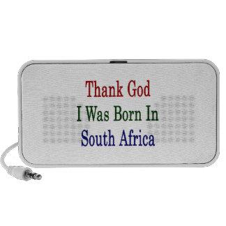 Agradezca a dios que nací en Suráfrica Mini Altavoces