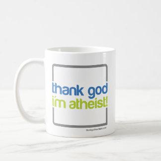 Agradezca a dios que soy taza atea