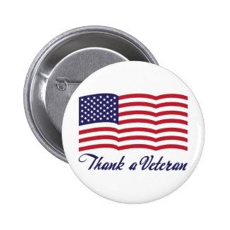 Agradezca a un veterano pin