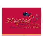 Agradezca a una enfermera felicitaciones