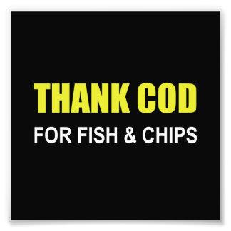 Agradezca el bacalao fotografías
