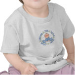Agradezca el cielo por niños pequeños camisetas