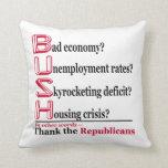 Agradezca la almohada de tiro de los republicanos