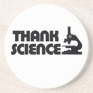 Agradezca la ciencia posavaso para bebida