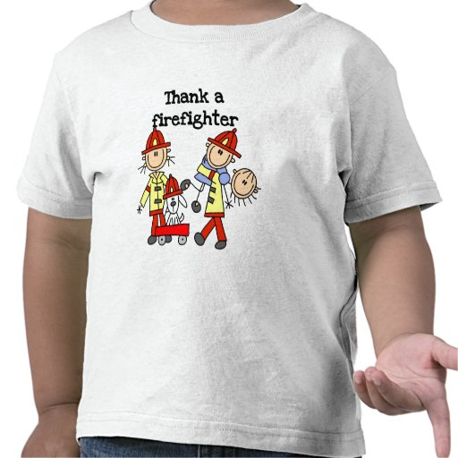 Agradezca las camisetas y los regalos de un