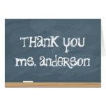 ¡Agradezca su profesor o profesor particular! (aña Tarjeta De Felicitación