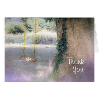Agradezca, usted tarjeta pequeña