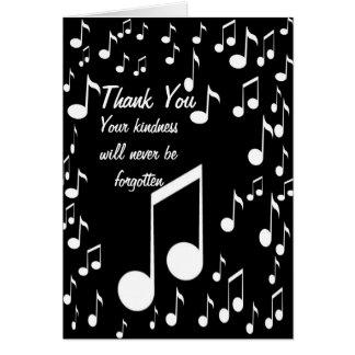 Agradezca You_ Tarjeta Pequeña