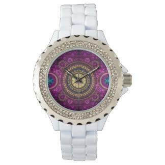 Agrado de la púrpura relojes de pulsera