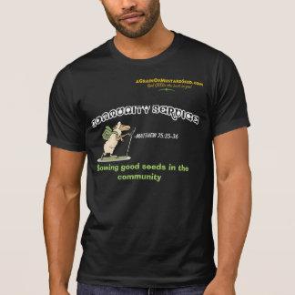 Agrainofmustardseed.com COMMUNITY SERVICE T-Shirt