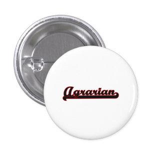 Agrarian Classic Job Design 1 Inch Round Button