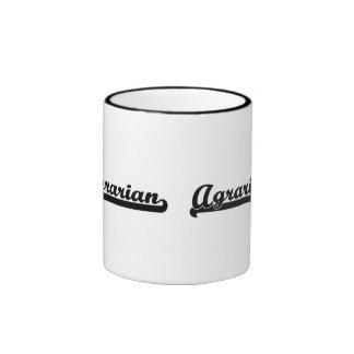 Agrarian Classic Job Design Ringer Coffee Mug