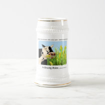 Agrazing Maize (Funny Cow Gifts Cards Tees Etc) Beer Stein