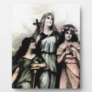 Agree - Faith, Hope & Charity Photo Plaques