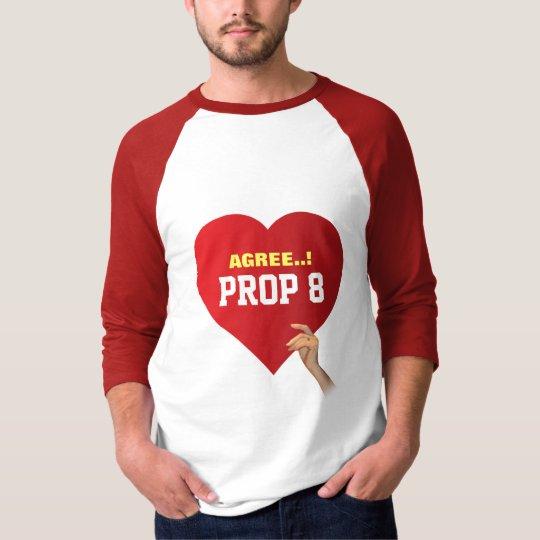 Agree Prop 8 T-Shirt