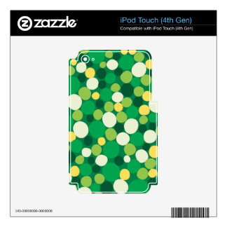 Agreeable Pleasurable Amicable Powerful Skins For iPod Touch 4G