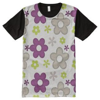 Agreeable Positive Fine Progress All-Over Print T-shirt