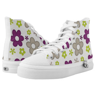 Agreeable Positive Fine Progress Printed Shoes