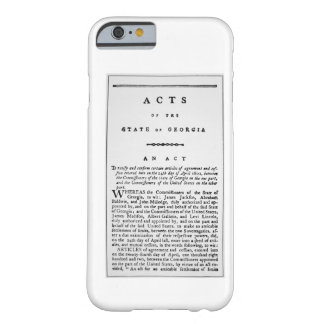 Agreement documenting the forced removal of the In Barely There iPhone 6 Case