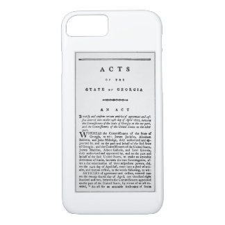 Agreement documenting the forced removal of the In iPhone 8/7 Case