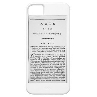 Agreement documenting the forced removal of the In iPhone SE/5/5s Case