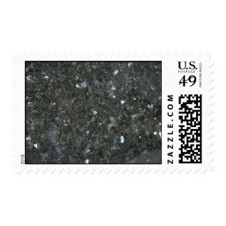 Agregado completamente sólido del carbón de leña sello postal