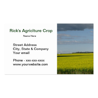 Agriclture Business Card