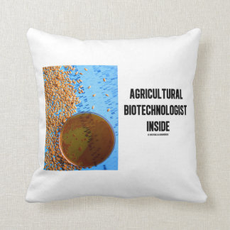Agricultural Biotechnologist Inside (Genetic) Pillows
