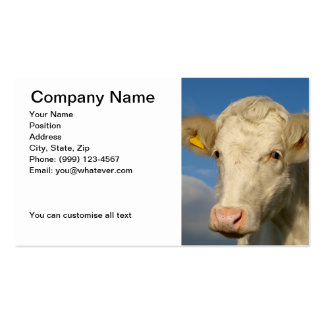 Agricultural Business Card