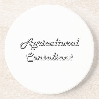 Agricultural Consultant Classic Job Design Coasters