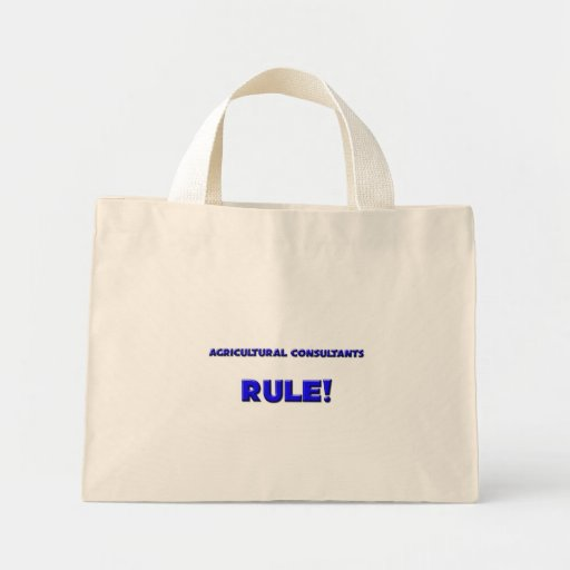 Agricultural Consultants Rule! Tote Bags