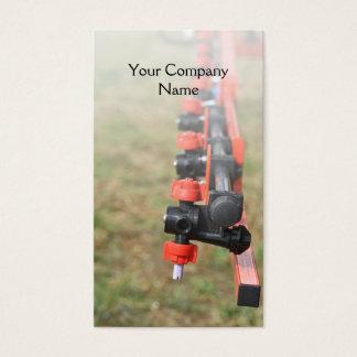 Agricultural crop sprayer business card
