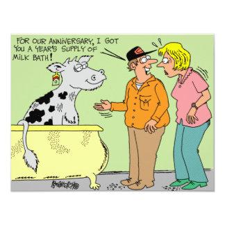 AGRICULTURAL FARMER HUSBAND / WIFE CARTOON HUMOR CARD