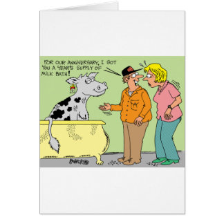 AGRICULTURAL FARMER HUSBAND / WIFE CARTOON HUMOR CARDS