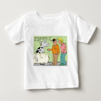 AGRICULTURAL FARMER HUSBAND / WIFE CARTOON HUMOR TSHIRTS
