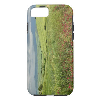 Agricultural field, Tuscany region of Italy. iPhone 7 Case