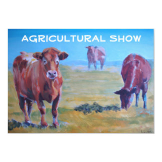 Agricultural Show Invitations