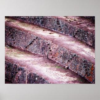 Agricultural Terraces, Pisac Citadel, Peru Posters