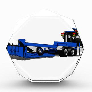 Agricultural Tractor Acrylic Award