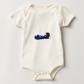 Agricultural Tractor Baby Bodysuit