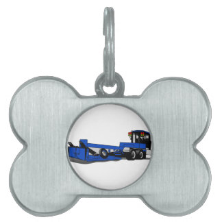 Agricultural Tractor Pet Name Tag