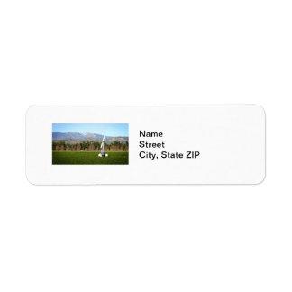 Agricultural Wind Machine Label