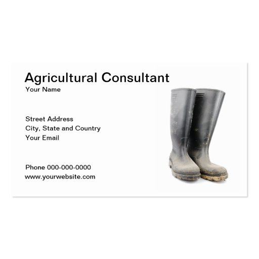 Agriculture Business Card Business Card Templates