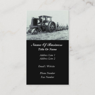 Agriculture Business Card