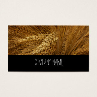 Agriculture Company Rye Business Card