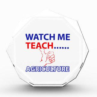 Agriculture design acrylic award