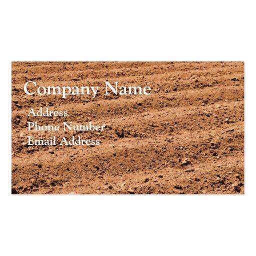 Agriculture Farm Soil Business Card