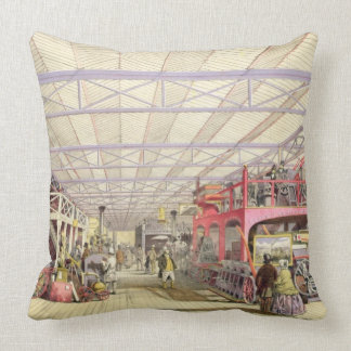 Agriculture, from 'Dickinson's Comprehensive Pictu Throw Pillow